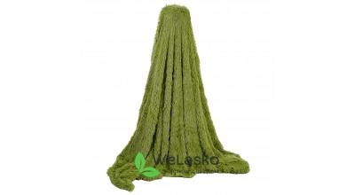 Плед меховой т.зелень